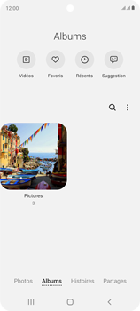 Samsung Galaxy S20 FE - Photos, vidéos, musique - Envoyer une photo via Bluetooth - Étape 6