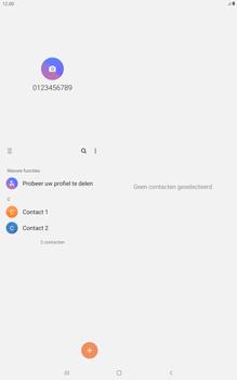 Samsung galaxy-tab-a-10-1-lte-2019-sm-t515 - Contacten en data - Contacten kopiëren van toestel naar SIM - Stap 4