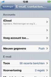 Apple iPhone 4 S - E-mail - e-mail instellen: POP3 - Stap 4