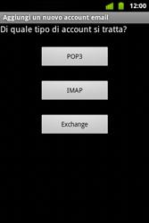 Alcatel OT-983 - E-mail - Configurazione manuale - Fase 11