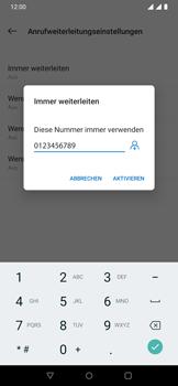 OnePlus 6T - Anrufe - Rufumleitungen setzen und löschen - 12 / 14