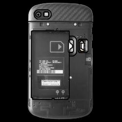 BlackBerry Q10 - SIM-Karte - Einlegen - Schritt 4