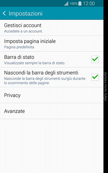 Samsung Galaxy Note Edge - Internet e roaming dati - Configurazione manuale - Fase 21