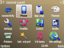 Nokia E72 - Voicemail - Manual configuration - Step 4