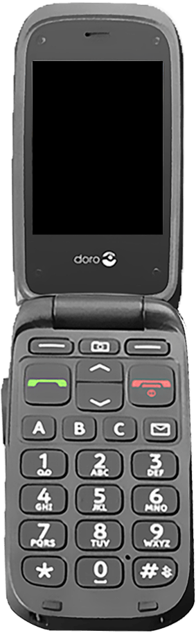 Doro Phone Easy 612 - Premiers pas - Découvrir les touches principales - Étape 6