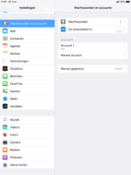 Apple ipad-air-2-ios-12 - E-mail - Account instellen (POP3 met SMTP-verificatie) - Stap 15