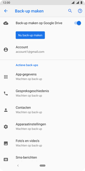 Nokia 9 - Data - Maak een back-up met je account - Stap 11