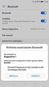 Huawei P10 Plus - Bluetooth - Collegamento dei dispositivi - Fase 6
