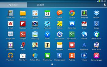 Samsung Galaxy Tab 3 10-1 LTE - Rete - Selezione manuale della rete - Fase 3