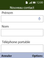 Alcatel 3088X - Contact, Appels, SMS/MMS - Ajouter un contact - Étape 6