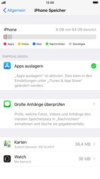 Apple iPhone 8 Plus - Apps - Automatisches Entfernen nicht genutzter Apps aktivieren - 6 / 6