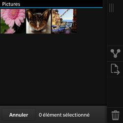 BlackBerry Q10 - Photos, vidéos, musique - Envoyer une photo via Bluetooth - Étape 7