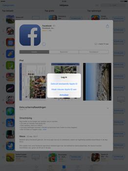 Apple iPad Pro 12.9 inch (Model A1671) - Applicaties - Account aanmaken - Stap 7