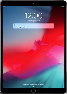Apple ipad-pro-11-inch-2018-model-a1934 - Instellingen aanpassen - Activeer het toestel en herstel jouw iCloud-data - Stap 30