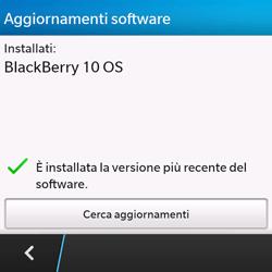 BlackBerry Q10 - Software - Installazione degli aggiornamenti software - Fase 6