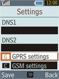 Samsung B2100 Xplorer - MMS - Manual configuration - Step 10
