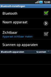 Samsung S5660 Galaxy Gio - bluetooth - headset, carkit verbinding - stap 6