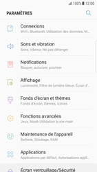 Samsung Galaxy S7 Edge - Android N - Internet et roaming de données - Comment vérifier que la connexion des données est activée - Étape 4