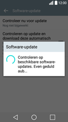 LG Leon 3G (H320) - software - update installeren zonder pc - stap 11