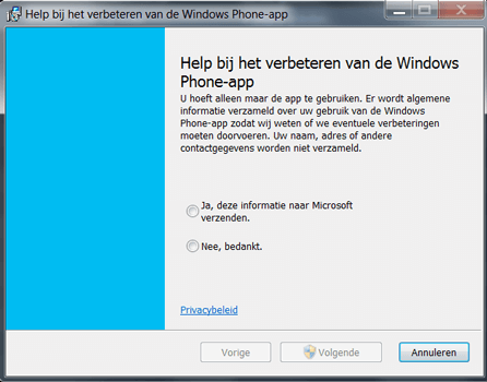 Microsoft Lumia 640 XL - Software - Download en installeer PC synchronisatie software - Stap 4