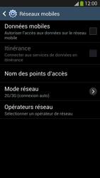 Samsung Galaxy S4 - Internet et connexion - Désactiver la connexion Internet - Étape 8