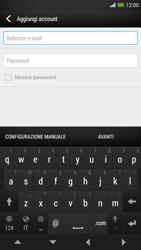 HTC One Max - E-mail - configurazione manuale - Fase 6