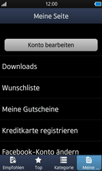 Samsung Wave - Apps - Konto anlegen und einrichten - 17 / 18