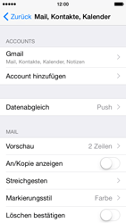Apple iPhone 5C iOS 8 - E-Mail - 032a. Email wizard - Gmail - Schritt 11