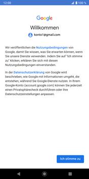 Sony Xperia XZ3 - E-Mail - Konto einrichten (gmail) - Schritt 11