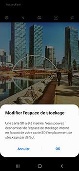 Samsung Galaxy A20e - Photos, vidéos, musique - Créer une vidéo - Étape 4