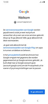 Samsung Galaxy A40 - E-mail - Handmatig instellen (gmail) - Stap 11