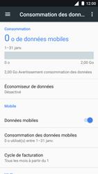Nokia 3 - Internet et roaming de données - Comment vérifier que la connexion des données est activée - Étape 6