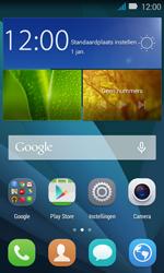 Huawei Y3 - oproepen doorschakelen - wordt niet ondersteund - stap 1