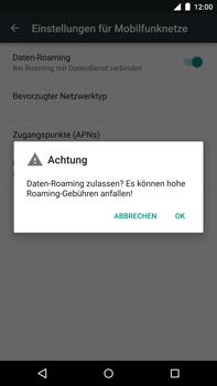 Motorola Google Nexus 6 - Ausland - Im Ausland surfen – Datenroaming - 2 / 2
