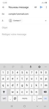Samsung Galaxy Note 10 Lite - E-mails - Envoyer un e-mail - Étape 8