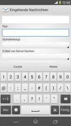 Sony Xperia M2 - E-Mail - Konto einrichten - Schritt 10