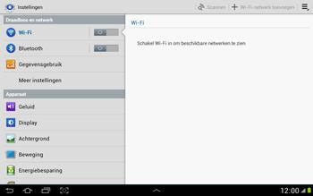 Samsung N8000 Galaxy Note 10-1 - Wifi - handmatig instellen - Stap 4