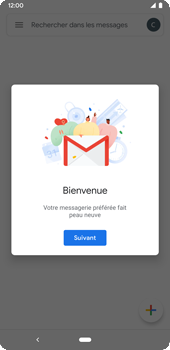 Google Pixel 3a - E-mails - Ajouter ou modifier votre compte Gmail - Étape 13