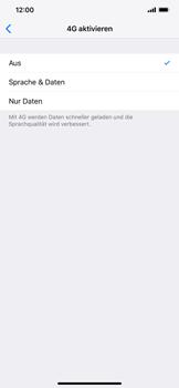 Apple iPhone XR - Netzwerk - Netzwerkeinstellungen ändern - Schritt 7