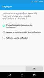 Sony Xperia Z5 Compact - Sécuriser votre mobile - Activer le code de verrouillage - Étape 11