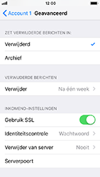Apple iphone-5s-ios-12 - E-mail - Account instellen (POP3 met SMTP-verificatie) - Stap 22