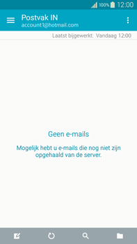 Samsung N910F Galaxy Note 4 - E-mail - handmatig instellen (outlook) - Stap 4