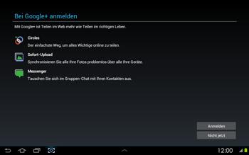 Samsung Galaxy Tab 2 10-1 - Apps - Konto anlegen und einrichten - 9 / 17