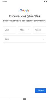 Google Pixel 3a - Applications - Créer un compte - Étape 8