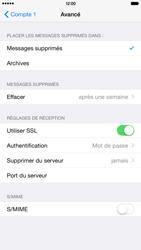 Apple iPhone 6 Plus - iOS 8 - E-mail - configuration manuelle - Étape 22