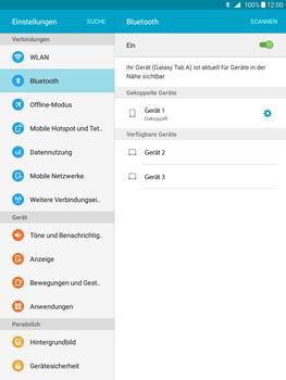 Samsung T555 Galaxy Tab A 9.7 - Bluetooth - Geräte koppeln - Schritt 10