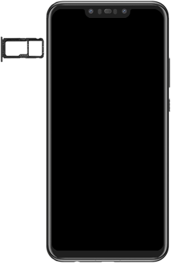 Huawei Nova 3 - SIM-Karte - Einlegen - Schritt 4