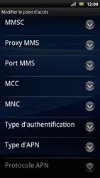 Sony Xperia Arc S - Internet - Configuration manuelle - Étape 12