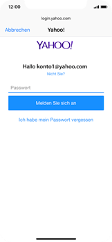 Apple iPhone X - E-Mail - Konto einrichten (yahoo) - 7 / 11