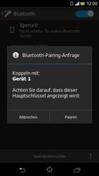 Sony Xperia V - Bluetooth - Verbinden von Geräten - Schritt 7